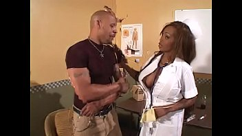 Redhaired Black Nurse Spantaneeus Xtasty With Huge Melons Taking Big Dick