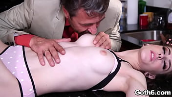 Anna helped herself to Steve's cock with a sloppy blowjob, and received a pussy pounding