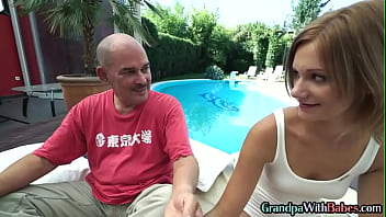 Older Guru Pussyfucking Petite Babe With Small Tits Outdoor