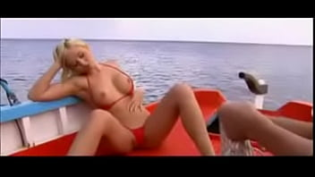 Angell Summers fucked hard in the ass on a boat