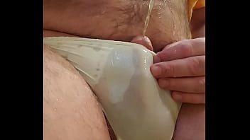 Piss-boy in panties