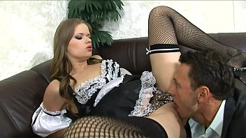 Perverse Couple Has A Threesome Fuck With The Maid