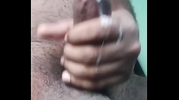 My cumshot in slow motion