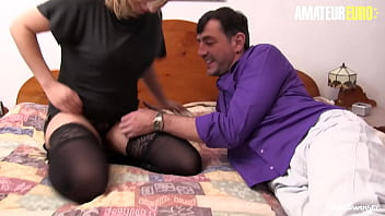 AMATEUR EURO - (Elif O. & Diether von Stein) Amateur Couple It's Having Some Fun Time While They Are Alone At Home
