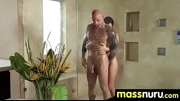 incredible slippery nuru sex massage 23