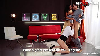 VIP SEX VAULT - #Sicilia #Andy Stone #Claudia Bavel - Hot Swinger Trio With A Sexy Spanish Babe 14 min