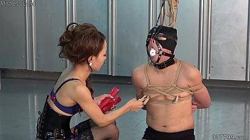 Japanese Mistress Reiko trains her domestic slaves