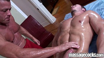 Gay cock game Massagecocks muscular anal game