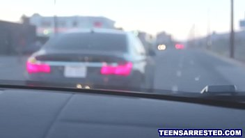 Spoiled Teen Fucked Rough By Cop For Traffic Violation