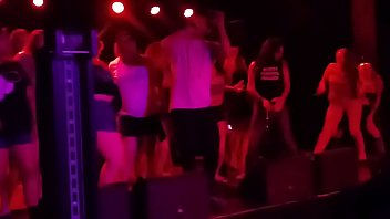 """Tasia Raps With Mickey Avalon & Dirt Nasty """"my Dick"""" On Stage On Fremont Street"""