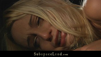 Sexy helpless Erica tormented and fucked in subspace