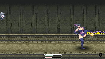 Orgasm girl 2 games Shinobi girl mini stage 2