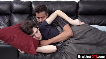 When a young boy returns home, his stepbrother is taking a nap, so he decides to wake him up tenderly