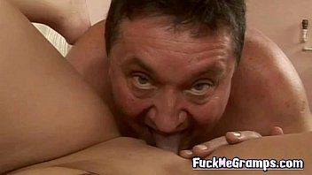 Horny old guy fuck hot blonde