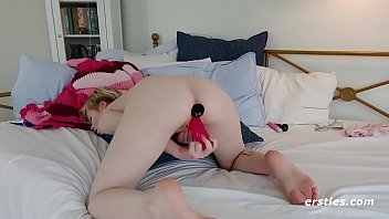 Pearl Loves Double Penetration with Her Toys