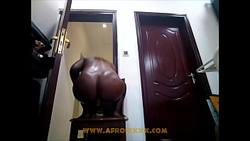 Afro reverse cowgirl