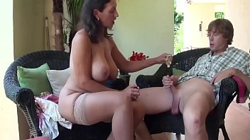 MILF teaches young Boy about Sex