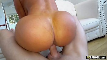 Brandi Bae's big ass goes up and down on a hard cock