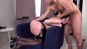 Beauty Kiara Gold Gets Ass Fucked Hard by Mr. Anderson's Big Cock   Spanking and Slapping   Gape VK032