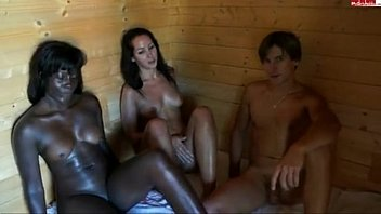 Sauna Threesome