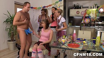 Birthday Party With 18Yo Teens Only