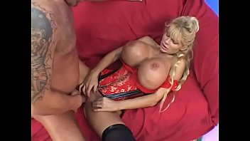Misty breasts Milf wearing red bustier with huge breasts misty knight gets fucked on the bed