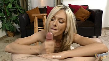 Jeanie Marie Jerking Off a Cock