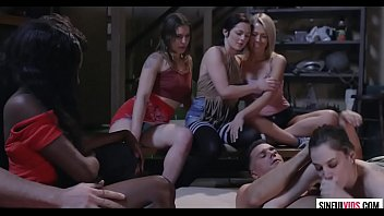 She is fucked, rest are watching - Bobbi Dylan and Ramon Nomar in Sex Cult Scene 3 thumbnail
