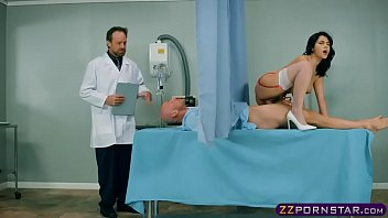His cock is too big for his wife but perfect for his nurse