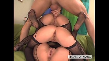 3 euro babes getting horny in fishnet stockings TS-7-02 pornhub video