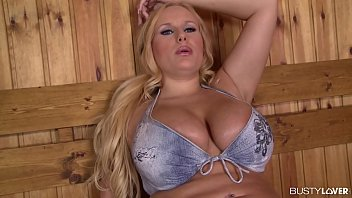Busty Bombshell Angel Wicky Titty Sucked And Double Penetrated In The Sauna