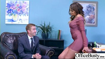 (Cassidy Banks) Sexy Big Tits Office Girl Love Hard Sex clip-10