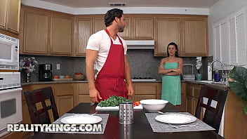(Kylie Rocket) Prefers To Be Served Her Personal Chefs (Seth Gamble) Cock Than The Menu - Reality Kings