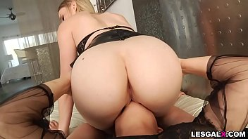 This is Anal action with intense anal orgasms with sexy booty babes Riley Reyes &amp_ Blair Williams.