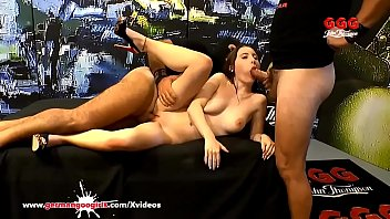 Little Lia Louise Groped and Used in a Sea of Cocks - German Goo Girls Vorschaubild