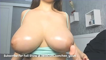 Japanese MILF With Massive Titties Loves to Cum Cream and Squirt