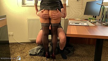 business woman takes use of her innocent trainee