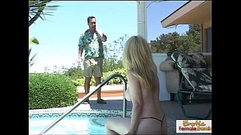 Robin real world mtv nude Cougar agent fucked on the job by the pool