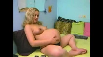 Pregnant Women Having Her Last Cam Before the Baby