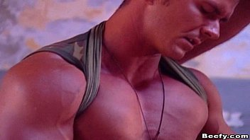 Muscle gay sex free video - Beefy gay soldier fucking with boyfriend