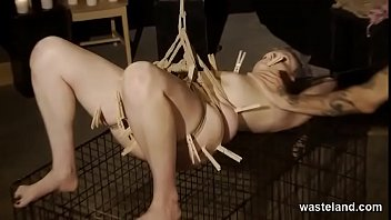 Bondage And Punishment For Submissive With Electrical Kink