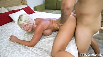 Sexy stepmom caught red handed by her stepsons in her room