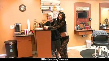Stunning Euro Teen Gets Talked In To Giving A Blowjob For Cash 21