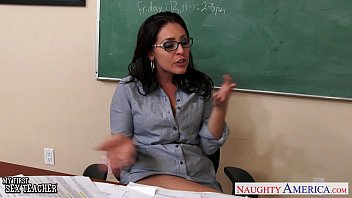 Naughty sex postion Busty teachers gracie glam, kendra lust sharing student