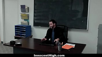 InnocentHigh - Gracie May Green Feels Better After Being Filled With Professor's