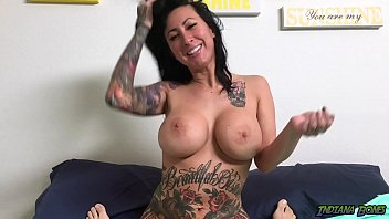 Hot Tattooed MILF Lily Lane Sucks Cock and gets fucked