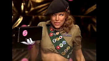 Fergie porn pic Fergalicious for her girl scout cookies