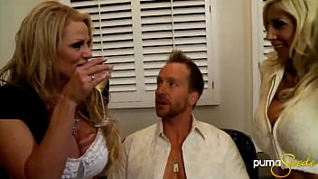 MILF Kelly Madison Shares Her Hubby With Busty Nordic Babe Puma Swede!