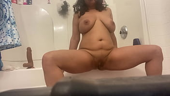 Anna Maria Mature Latina play time in the shower showing it all! Onlyfans.com/annamariamaturelatina for exclusive content subscribe NOW!