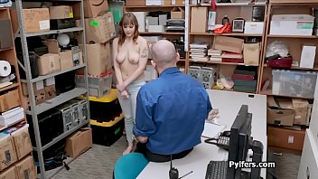 Busty Sailor Luna fucked at the office for stealing